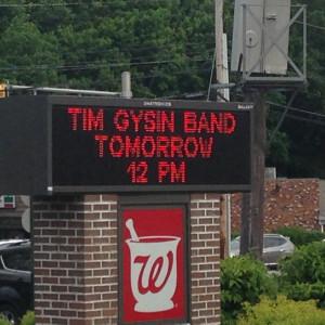 Tim Gysin Band, Waldwick, NJ United States, Alternative, Rock