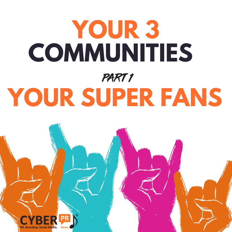 3 Communities Super Fans