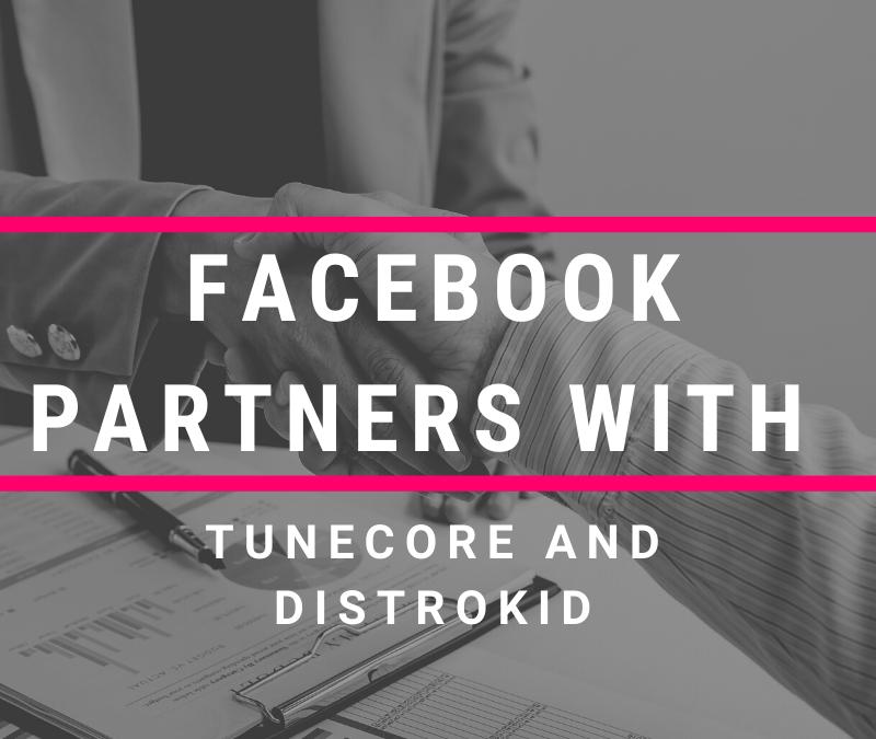 Facebook Tunecore Distrokid
