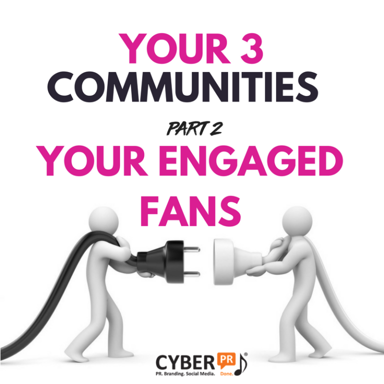 3 Communities Engaged Fans